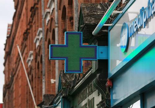 светодиодные аптечные кресты